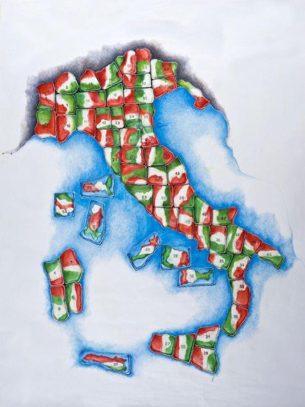 Sessantuna patriotico proyecto de Gaetano Pesce