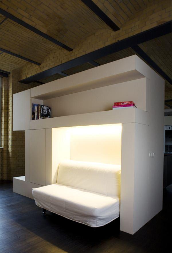 Nueva vida para este loft industrial berlin s obra de for Muebles industrial loft
