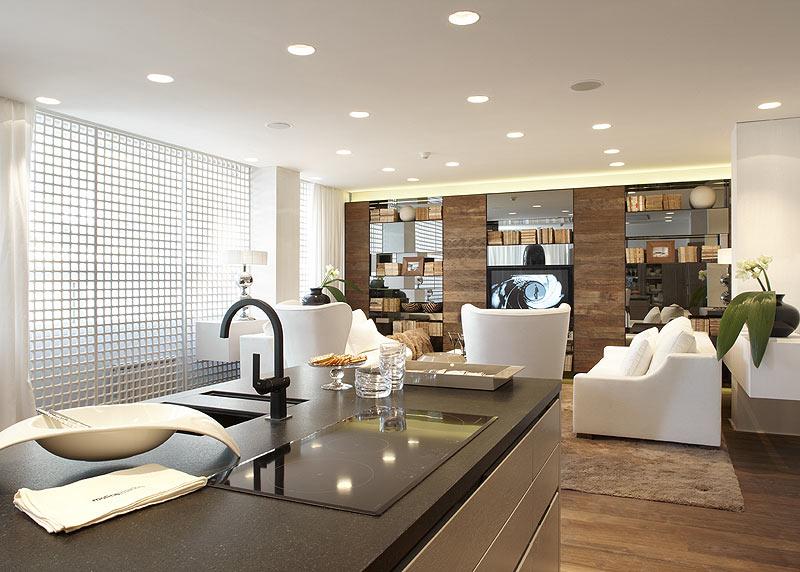 Casadecor barcelona abre sus puertas hasta el pr ximo 8 de - Ideas decoracion salones modernos ...
