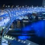 The Helix Bridge los mejores edificios del mundo diariodesign