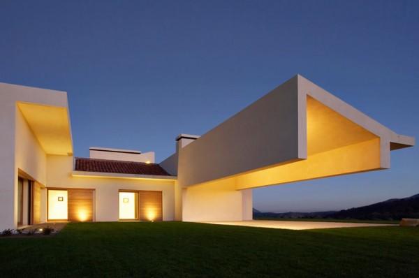 Casa en vila del estudio a cero un tributo contempor neo for Estudios de arquitectura famosos