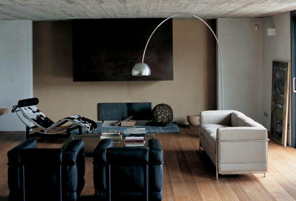el lc2 de le corbusier un cl sico relanzado con color por cassina. Black Bedroom Furniture Sets. Home Design Ideas