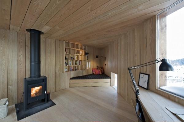 Writers cottage de jva el peque o refugio de un escritor en noruega - The writers cottage inspiration by design ...
