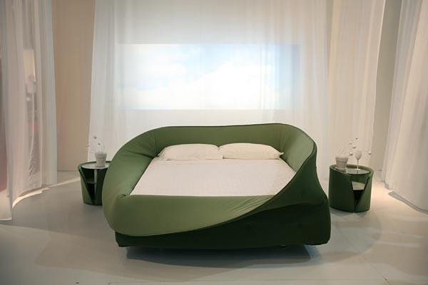 cama Col·letto diseño Nuša Jelenec de lago diariodesign