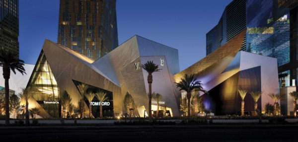 Citycenter las vegas una megal polis suntuosa en la for Restaurantes modernos exterior