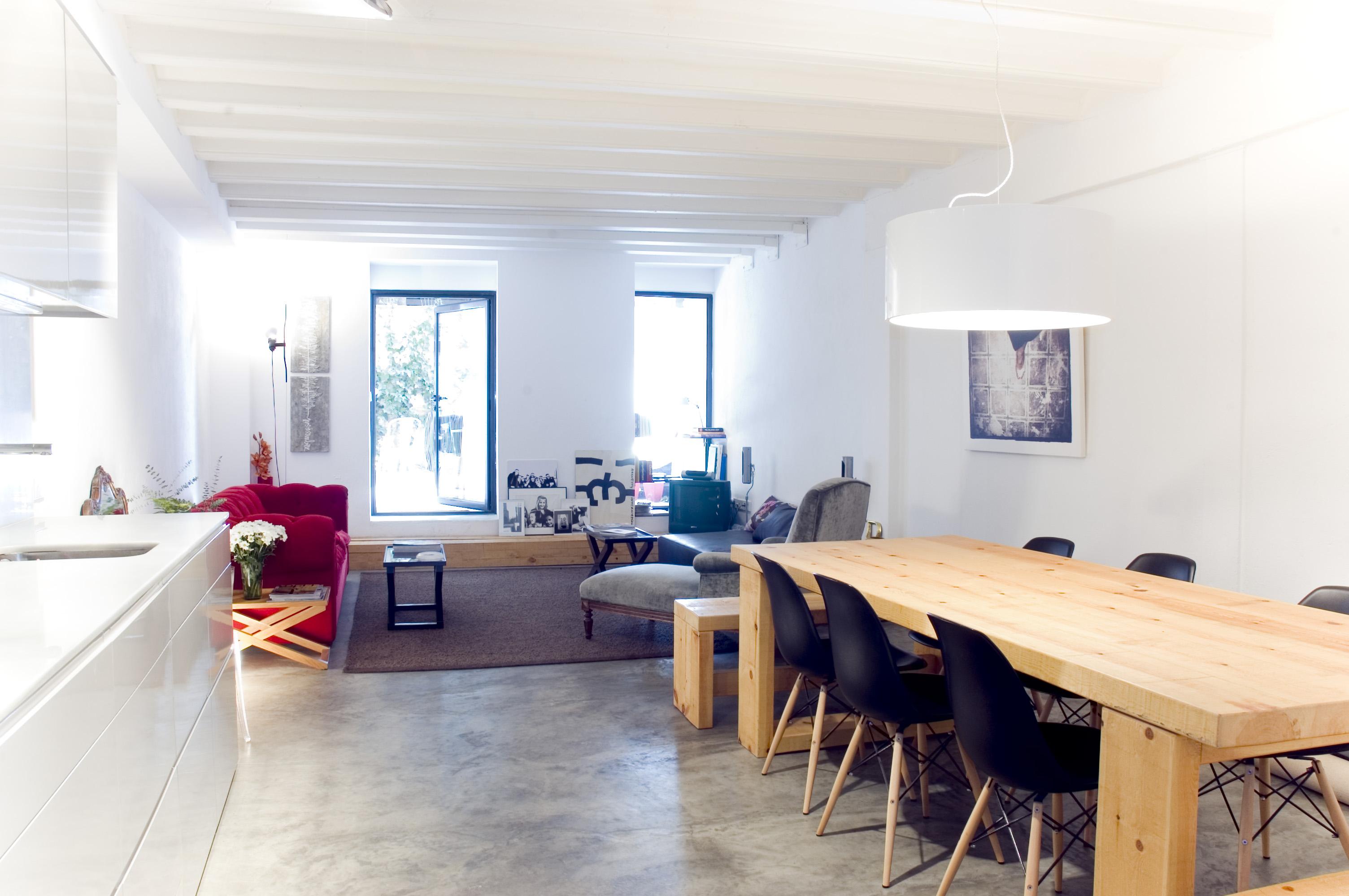 Apartamento en el barrio de gracia de local en ruinas a - Interiorismo pisos pequenos ...