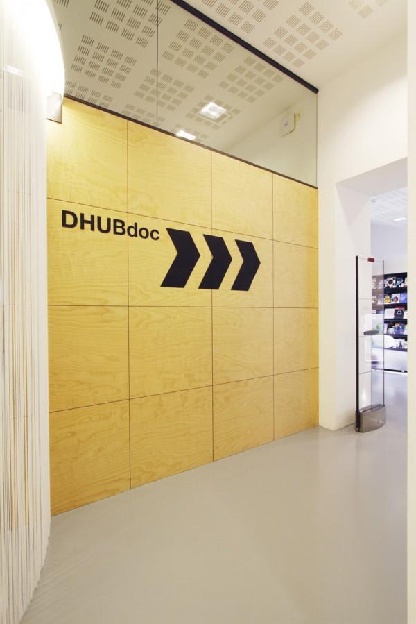 grafica en Dhubdoc biblioteca en barcelona