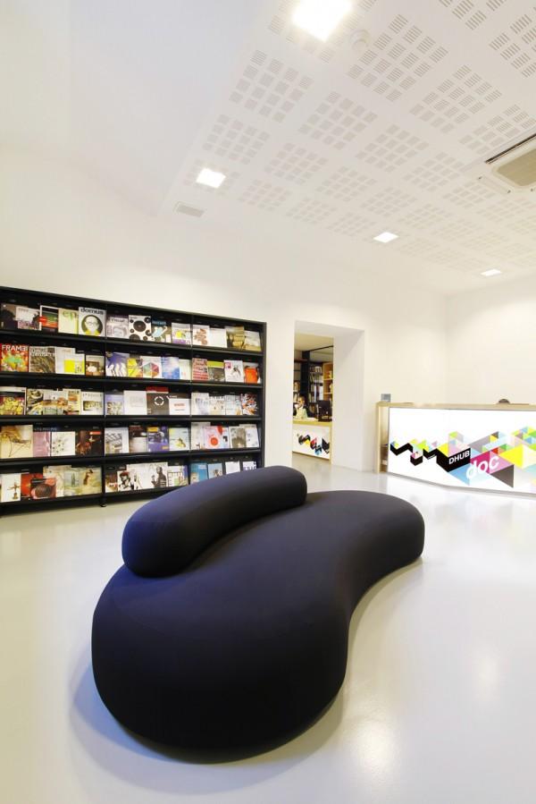 dhubdoc biblioteca en barcelona de diseño