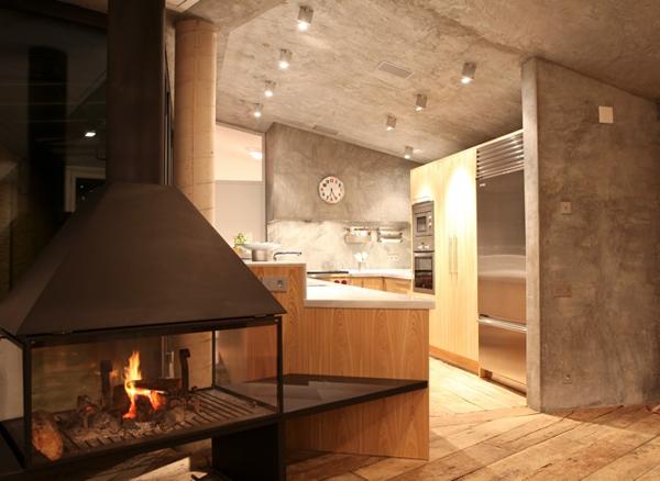 Casa Lurdes Bergada Salero chimenea diariodesign