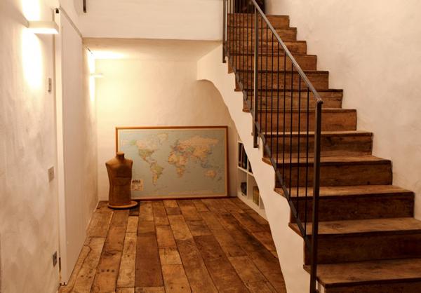 para garantizar with escaleras de casas
