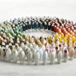 Hella Jongerius,coloured vases series 3, total, Gerrit Schreurs Fotografiel