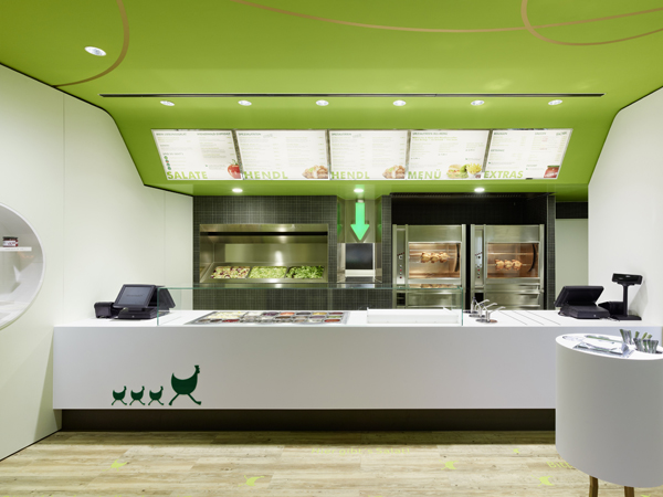 Restaurante wienerwald de ippolito fleitz el pollo for Fast food decoration
