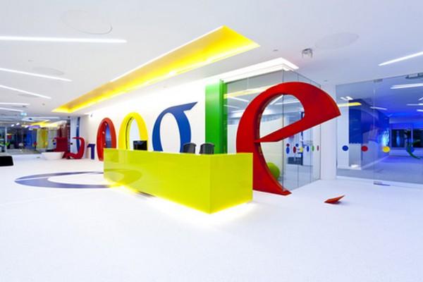 Tobogán oficina google