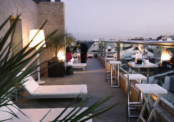solarium hotel urban en madrid diariodesign