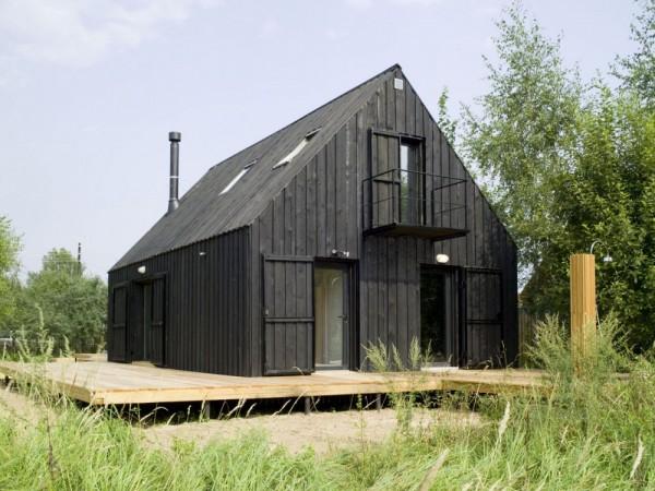 cabana tradicional rusa Dacha VolgaHouse en Rusia exterior diariodesign