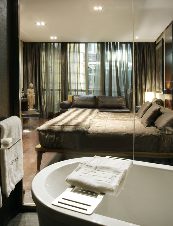 dormitorio hotel urban en madrid diariodesign
