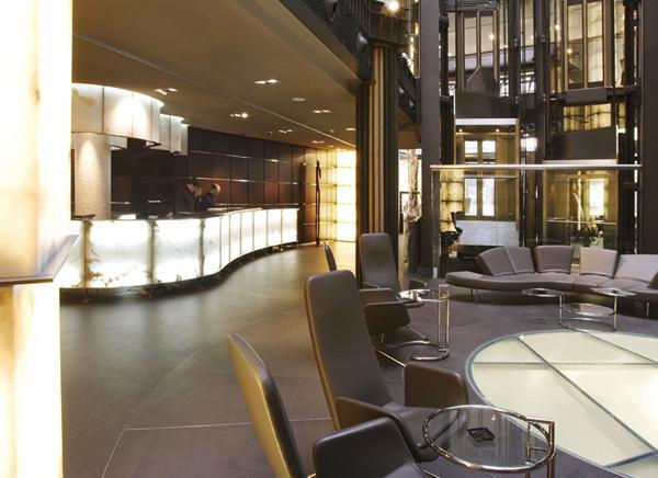 hall hotel urban en madrid diariodesign