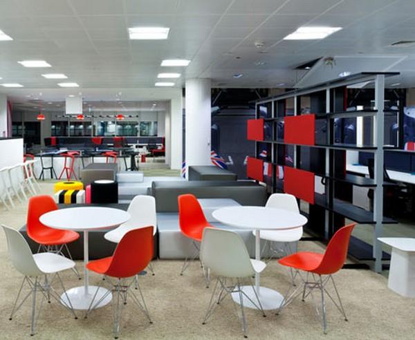 Nuevas Oficinas De Google En Londres Dise O De Scott