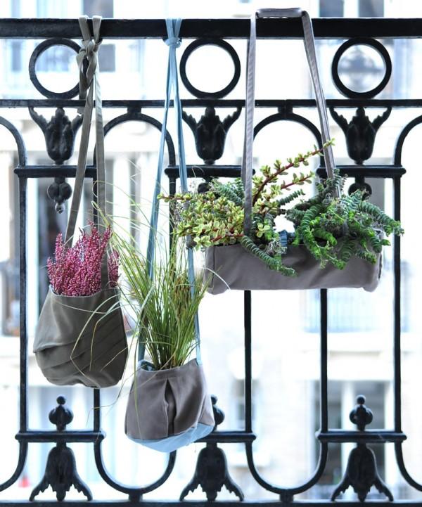 Aromáticas colgadas del balcón en diariodesign