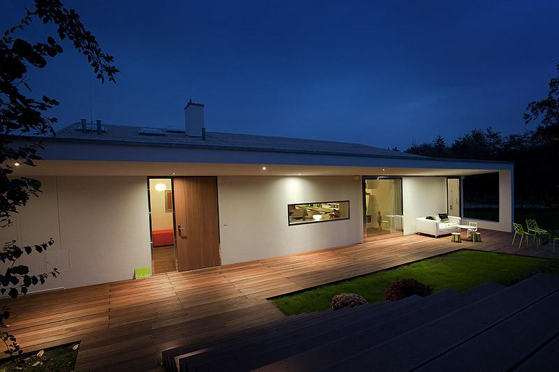 Villa 3s en graz austria la casa que el arquitecto proyect para su familia - Tejado a un agua ...