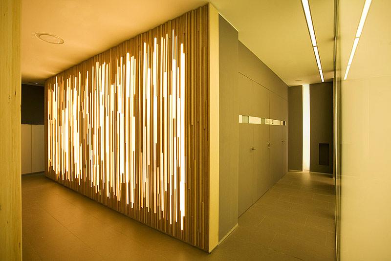 Una cl nica dental diferente por estudi d 39 arquitectura - Iluminacion decorativa interiores ...