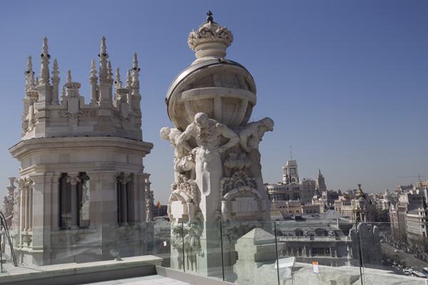 Madrid inaugura el renovado palacio de cibeles y lo abre a - Centros de jardineria madrid ...