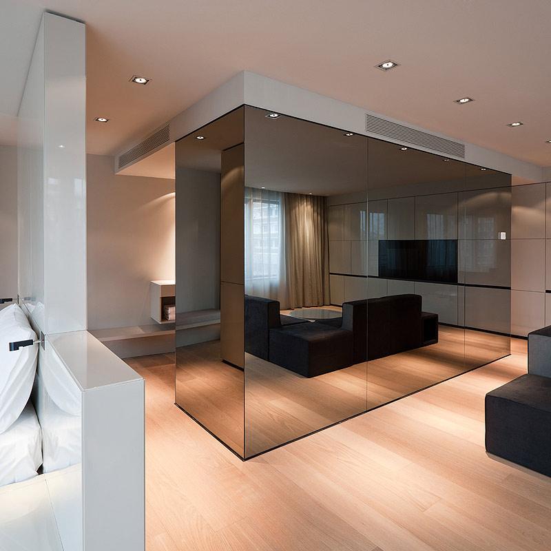 Hotel sana en el centro de berl n elegancia y sobriedad for Acabados minimalistas interiores
