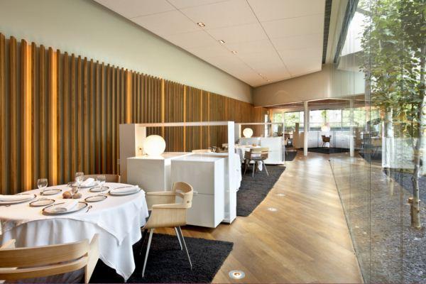 restaurante premio fad de arquitectura de estrella michelin en gerona el celler de can roca