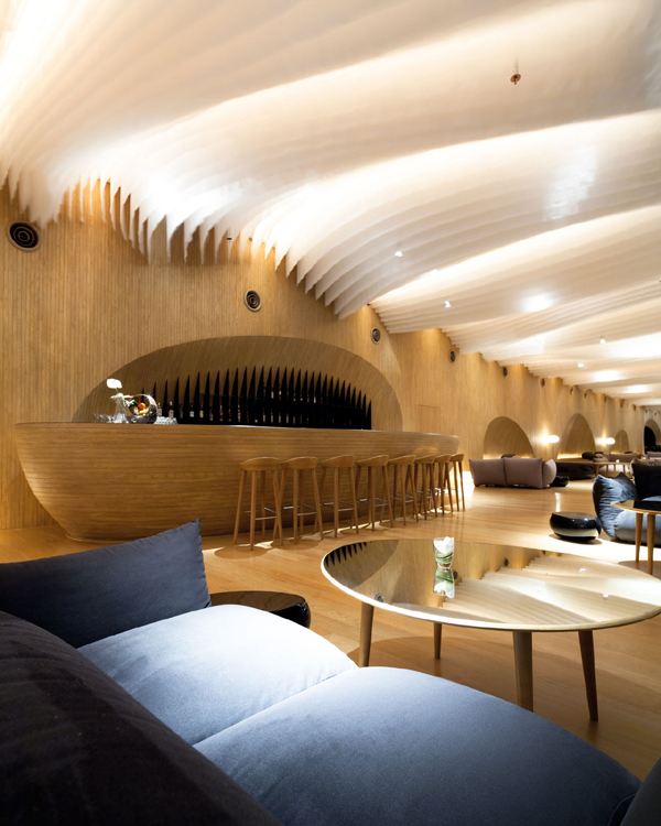 Sena Hospitality Design: Department Of Architecture Recrea Un Universo Onírico En