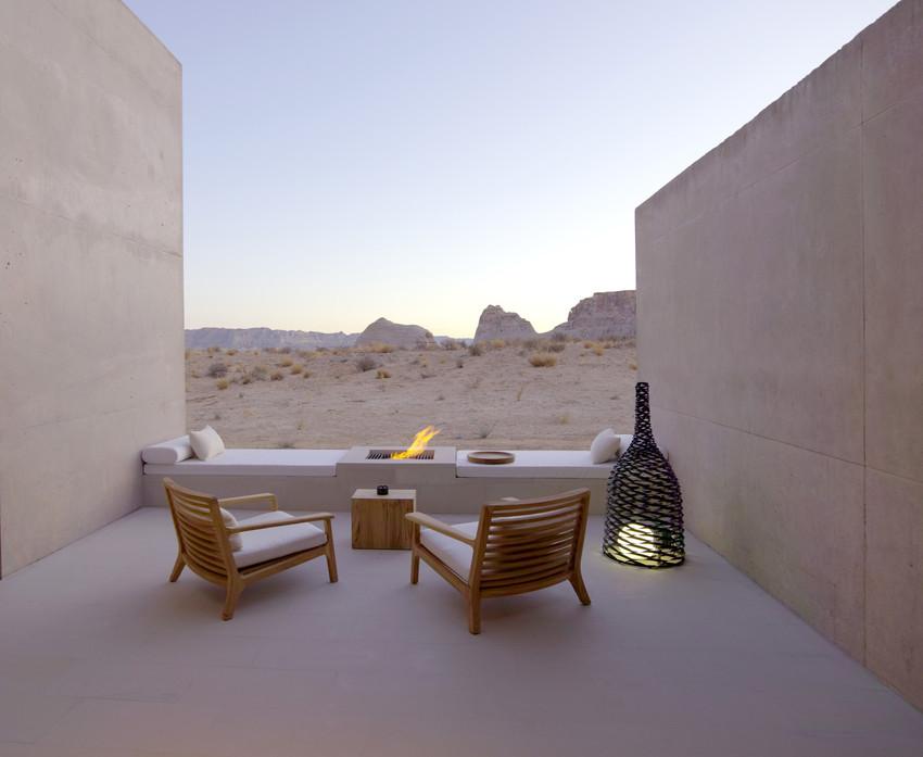 Resort de lujo en el desierto Navajo