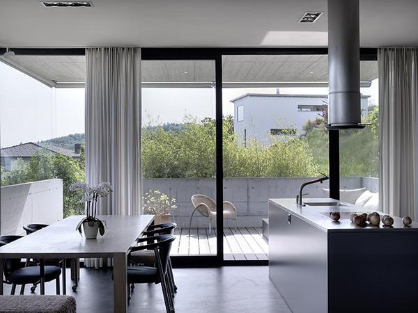 Felber sz lpal architects proponen una alternativa for Cocina salon espacio abierto