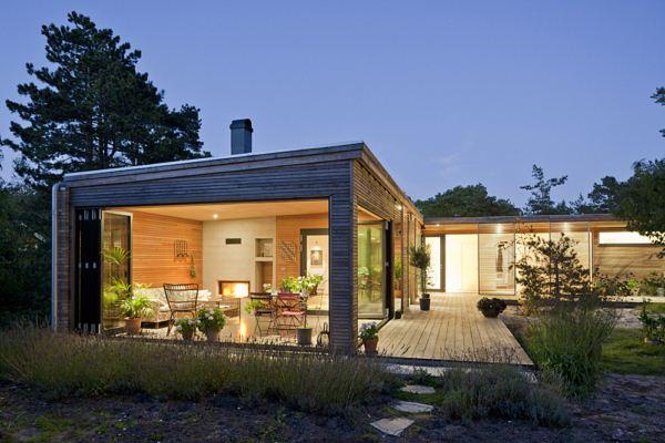 Johan sundberg ha dise ado villa h kansson una casa - Porches de casas modernas ...