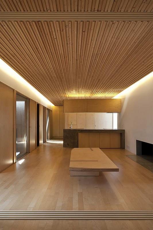 Una casa herm tica cerca de se l del estudio coreano byoung soo choo architects - Iluminacion indirecta dormitorio ...