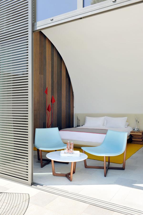 el hotel sezz de saint tropez un santuario del bienestar dise ado por christophe pillet. Black Bedroom Furniture Sets. Home Design Ideas