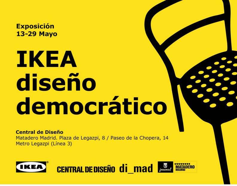 la exposicin ikea diseo democrtico homenajea al diseo que ikea ha puesto al alcance de todos desde su llegada a espaa y explica las claves que hay - Ikea Diseo
