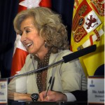 Paloma Sobrini, dec ana del Colegio Oficial de Arquitectos de Madrid 600x600