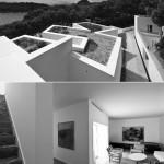 Dos fotografías de Juan Rodríguez sobre la casa en Mallorca de Álvaro Siza, que centra el primer número de la colección One