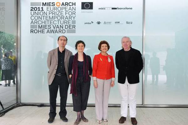 Ceremonia de entrega del premio de arquitectura premio - Premio mies van der rohe ...