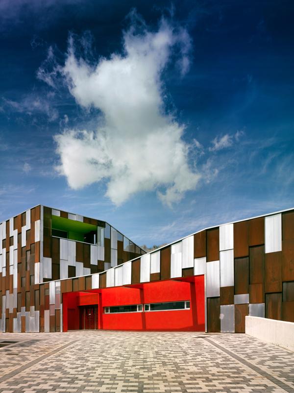 Centro de salud en v lez rubio almer a arquitectura - Estudios arquitectura granada ...
