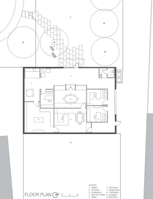 planos de la rehabilitacion del linda palace foundation