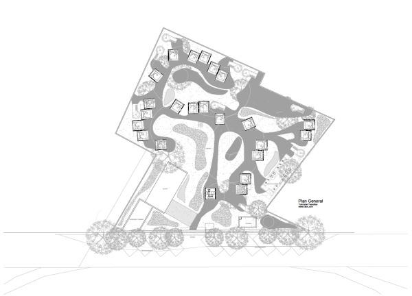 planos Tubohotel en méjico en diariodesign