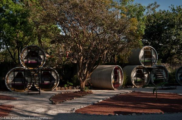 Tubohotel en méjico en diariodesign