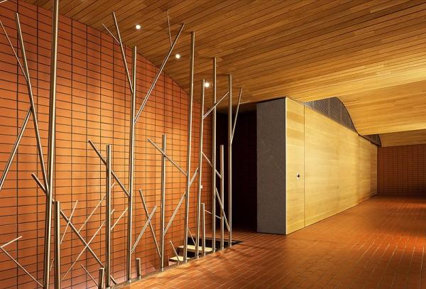 Fernando salas proyecta la nueva sala de barricas para el for Falsos techos de madera