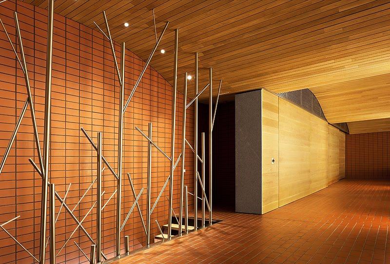 Fernando salas proyecta la nueva sala de barricas para el Falsos techos de madera