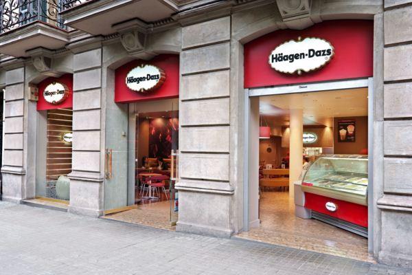 fachada tiendas haagen dazs en espana diariodesign