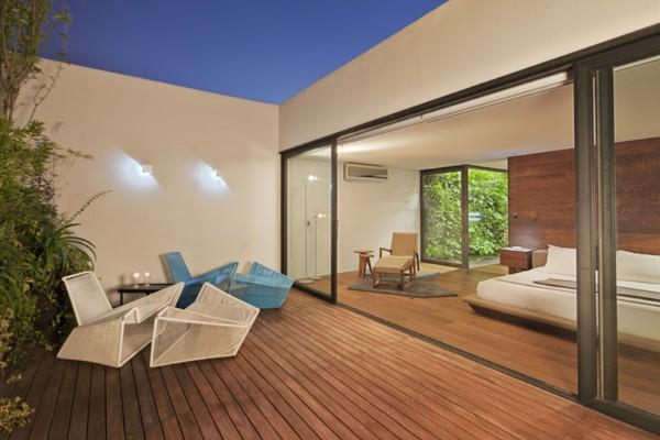Un oasis en un apartamento de méxico d. f., diseño del estudio ...