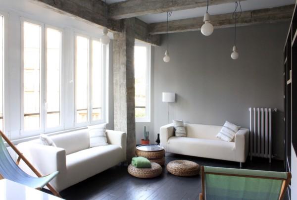Un apartamento que recupera el antiguo mirador en un piso - Interiorismo donostia ...