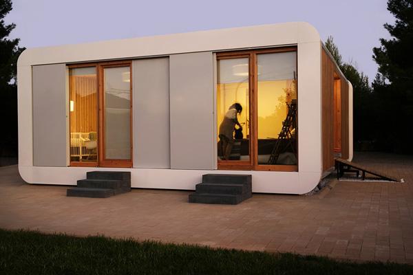 Casa noem en l eliana valencia una casa sostenible construida en tiempo r cord - Modulos de casas ...