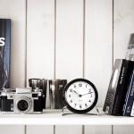1- Reloj de Mesa Arne Jacobsen