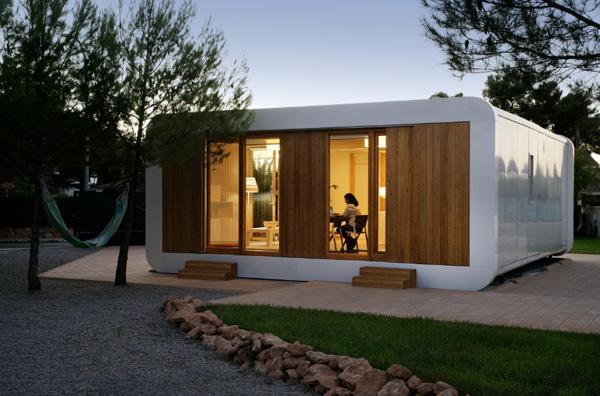 Casa noem en l eliana valencia una casa sostenible - Construcciones casas prefabricadas ...